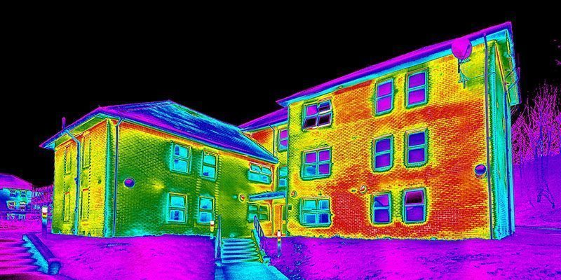 iRed Thermal Imaging Building