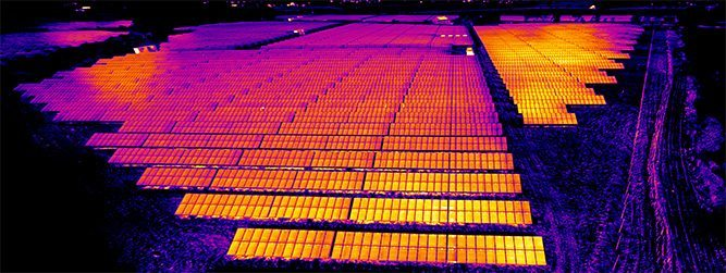 Infrared Photovoltaic Solar Park Training Course