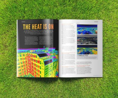 The Heat Is On - iRed DroneMag UK
