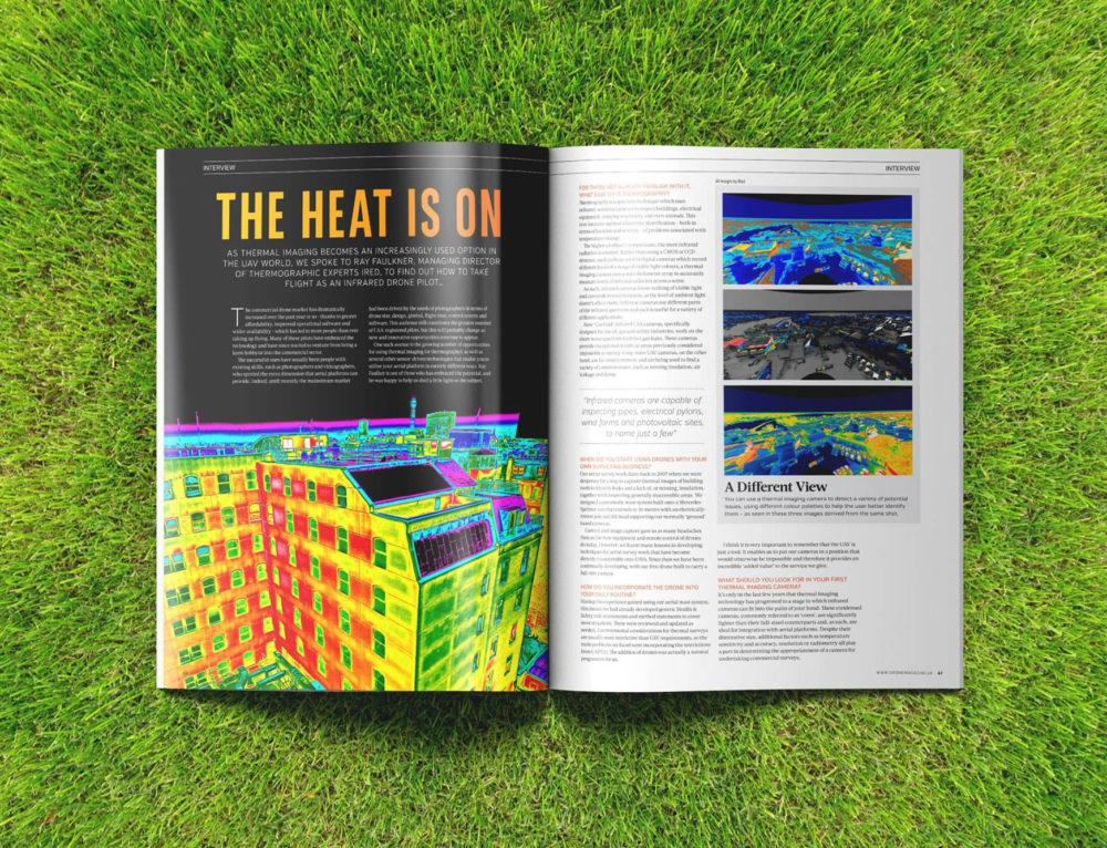 The Heat Is On – Interview with Drone Magazine