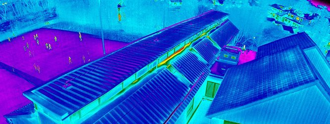 Infrared UAV Roof Survey Course