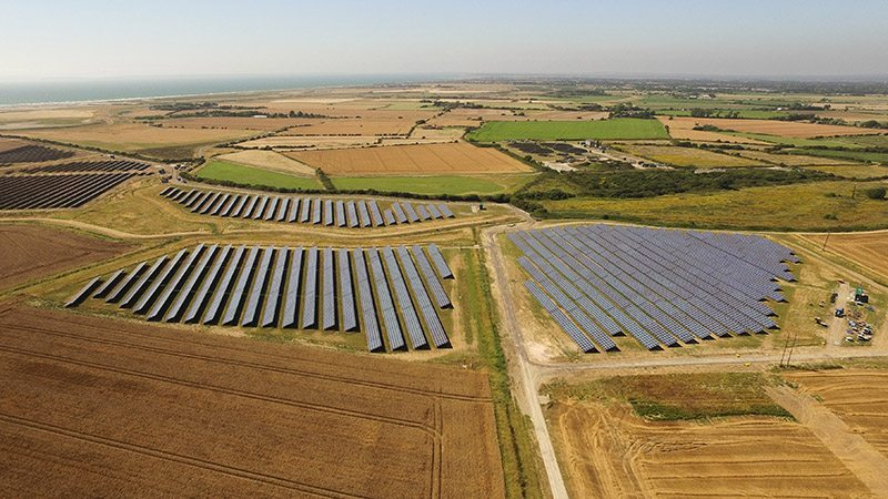 Solar Farm Survey Aerial Imagery iRed