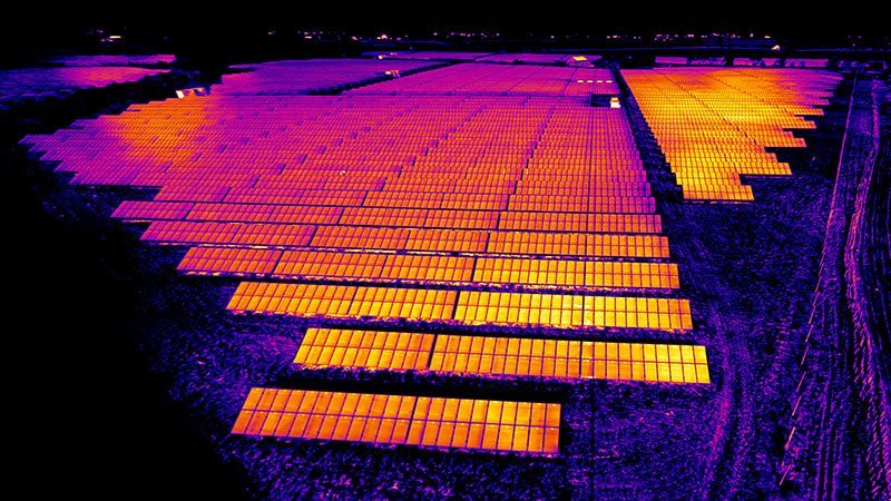 Solar Farm Survey iRed