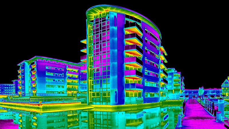 Thermal Imaging Commercial Building Survey