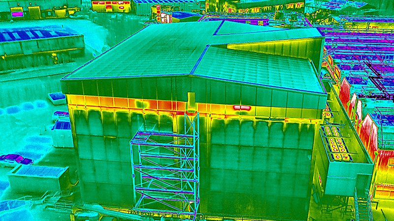 Thermal Imaging Drone Roof Survey 2