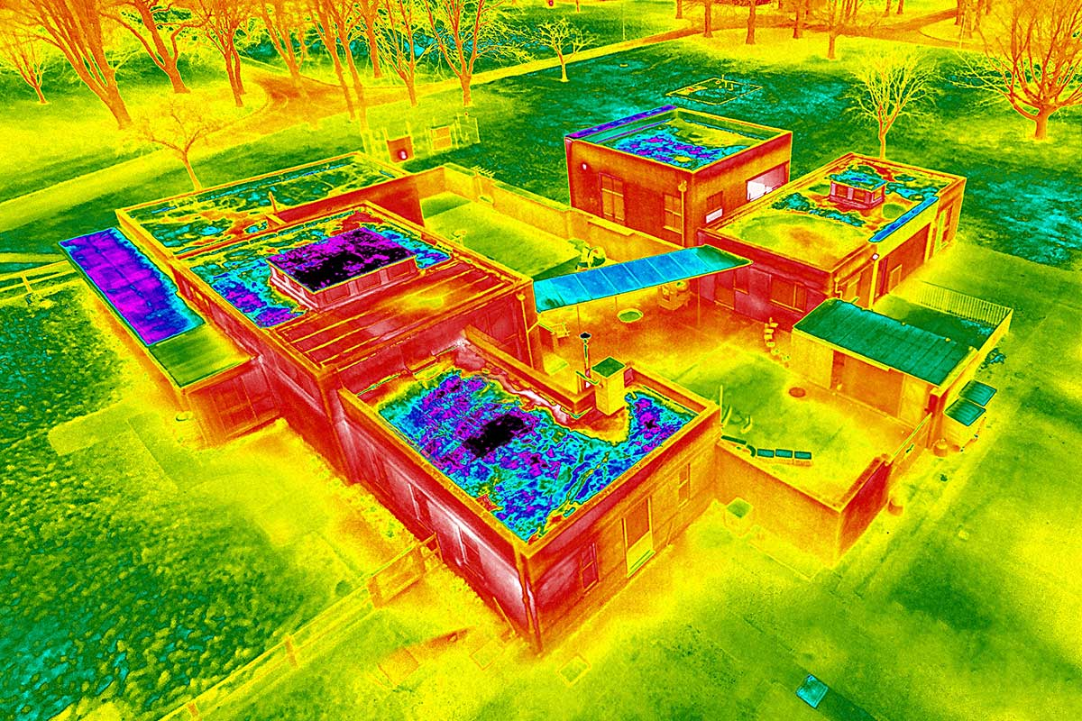 Drone Thermography Category 1 Ired Academy