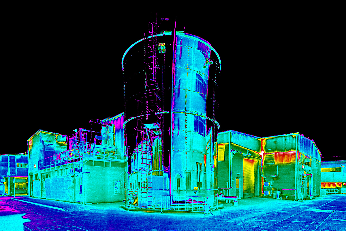 Reflection on a thermal imaging