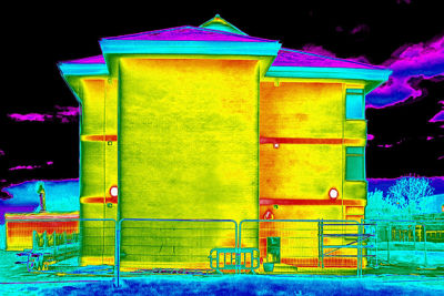 Thermal Bridging on a Building