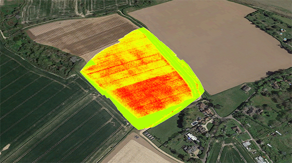 Multispectral Imaging Drone Survey