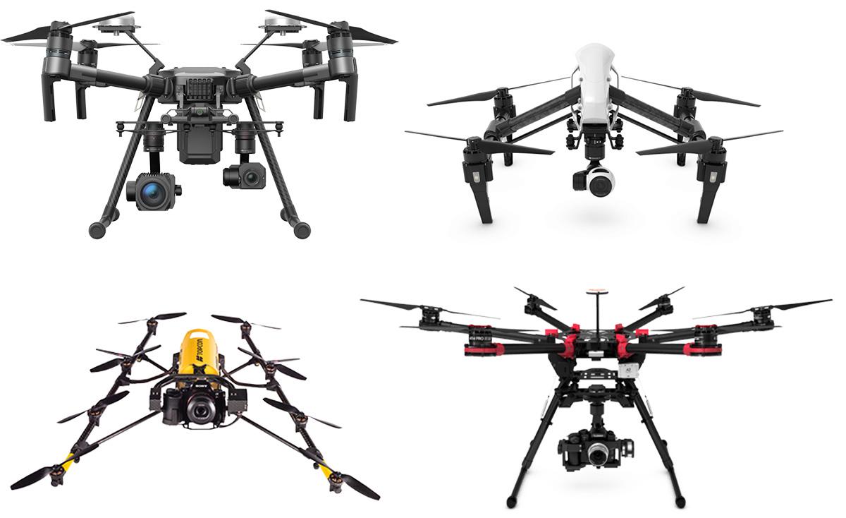 iRed Drone Fleet