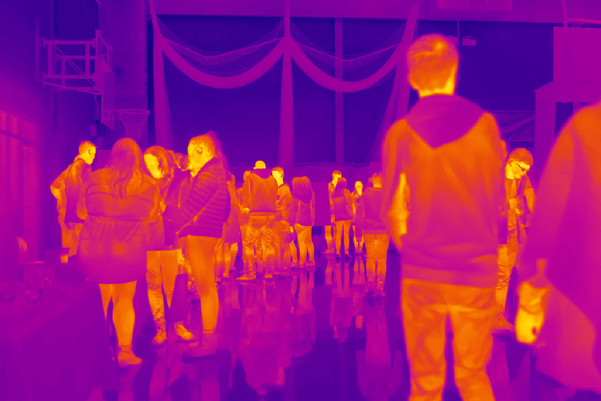 Image from Thermal Imaging Camera