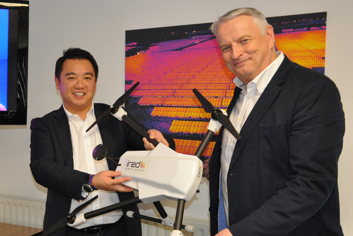 Alan Mak Visits iRed Thermal Imaging