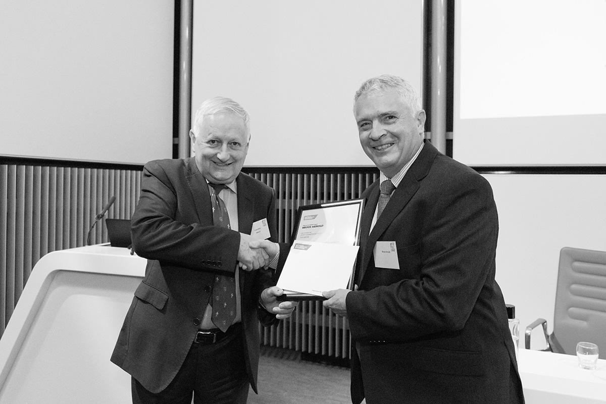 Bruce Arnold CISBE Award
