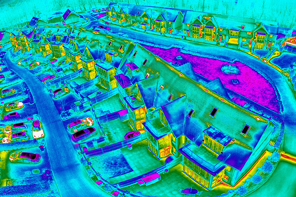 Thermal Imaging Saves Heating Bills