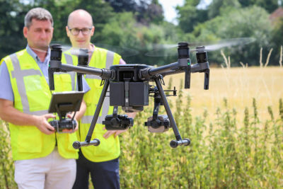 Inspections for Drone Training
