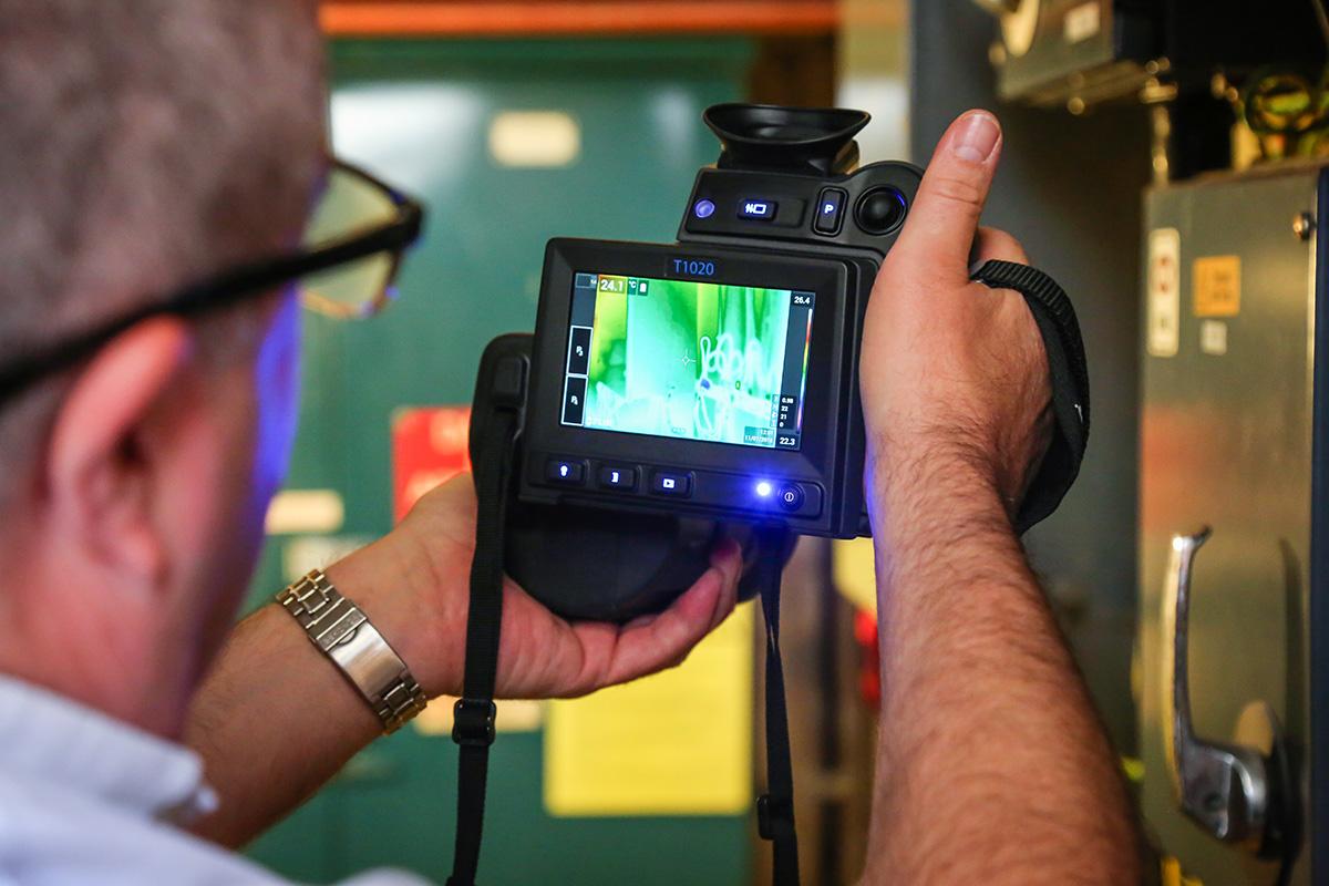Operating a Thermal Imaging Camera