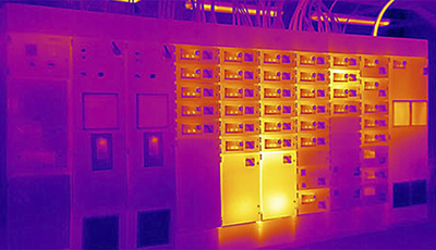 Thermal Imaging Data Centre Inspection
