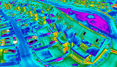 Thermal Imaging Drone Inspection