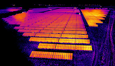 Thermal Imaging Photovoltaic Inspection