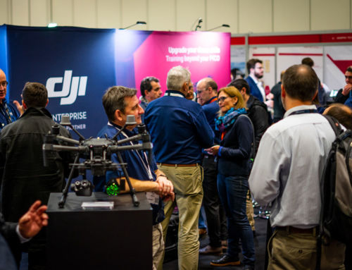 iRed Attends 2019 Commercial UAV Show