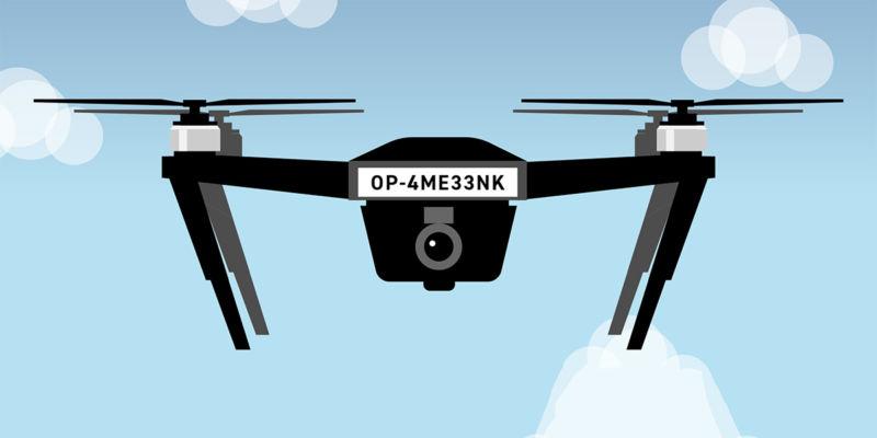 drone flyer id