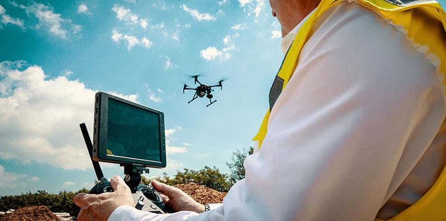 Drone training using DJI M300 drone